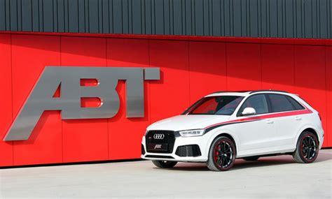 Audi Q3 Rs Abt by Audi Rs Q3 Tuning Von Abt Sportsline Autozeitung De