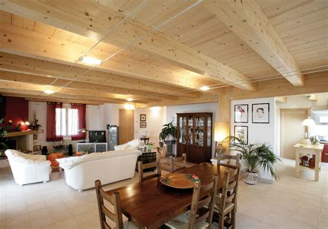 prefabbricate interni casa a due piani umbria terni costantini sistema legno