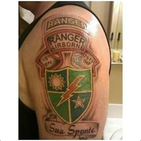 army ranger tattoo army ranger army and ranger on