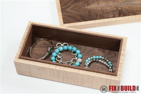 how to make a jewelry box how to make a simple wooden jewelry box fixthisbuildthat