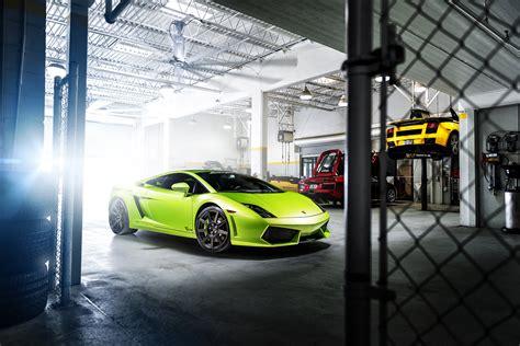 six car tandem garage full hd cars wallpapers green garage gallardo lamborghini supercar wallpaper