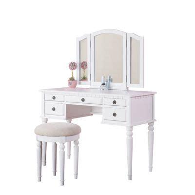 poundex bobkona st croix bedroom vanity set 1000 images about vanity sets on pinterest vintage