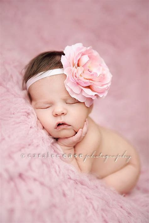 baby with headbands 52 images 12 beautiful baby large pink flower headband baby by