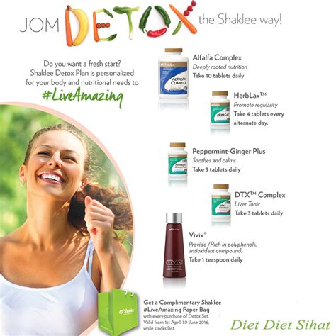 Shaklee Detox Plan by Program Detox Shaklee Vita Diary
