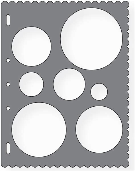 fiskars shape template stencil scrapbook xpress craft