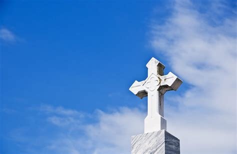 Architectural Plans Online Stone Cross And Blue Sky Ii Photograph By Ray Laskowitz