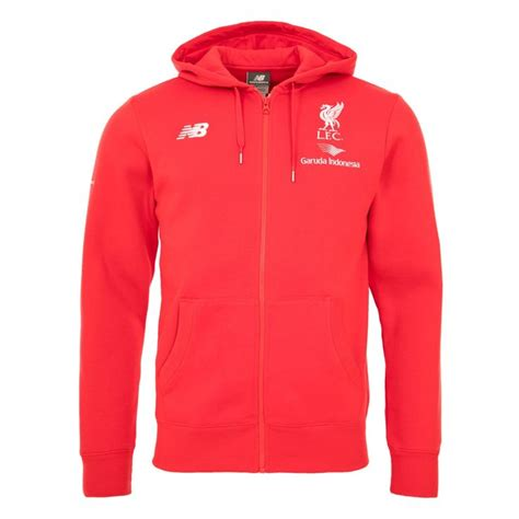 Zipper Hoodie Liverpool 19 lfc mens new balance hoody liverpool fc official