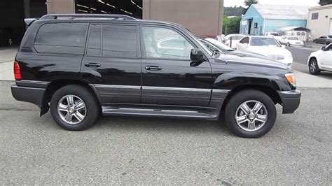 black lexus 2006 2006 lexus lx470 black stock 003835 walk around