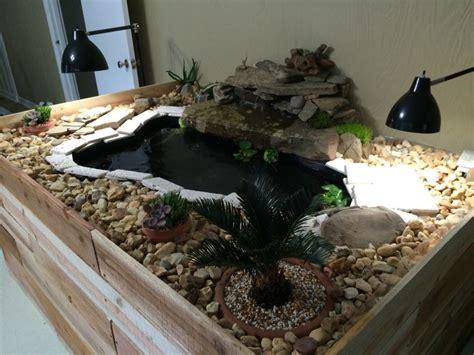 desain aquarium kura kura 18 best images about indoor turtle pond on pinterest