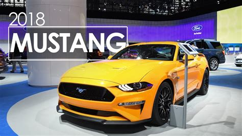 Mustang New York Auto Show by 2018 Ford Mustang First Look Review 2017 New York