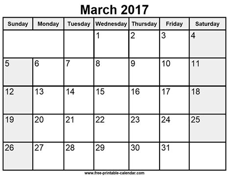 printable calendar you can edit printable march 2017 calendar free printable 2018