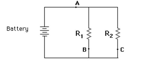 battery resistor circuit ohm s