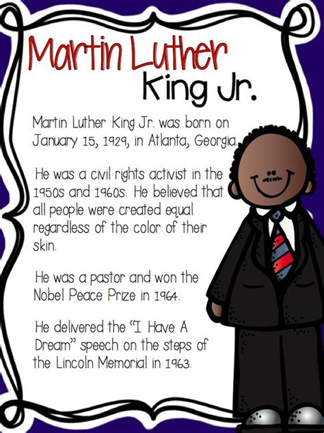 biography of martin luther king jr for middle school 23 best martin luther king jr images on pinterest