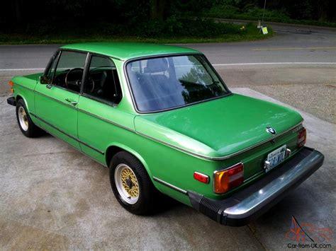 bmw 2002 restoration 1976 bmw 2002 excellent restoration