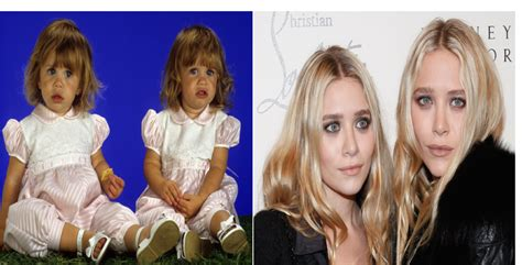 twins full house mary kate and ashley olsen michelle tanner full house then and now