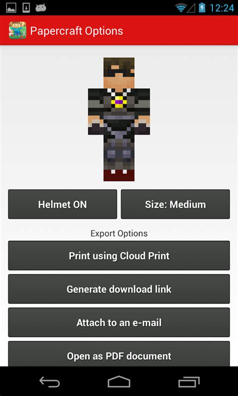 Minecraft Papercraft App - minecraft papercraft studio android apps on play