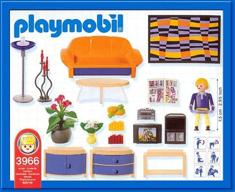 wohnzimmer playmobil playmobil set 3966 family room playmobil mighty