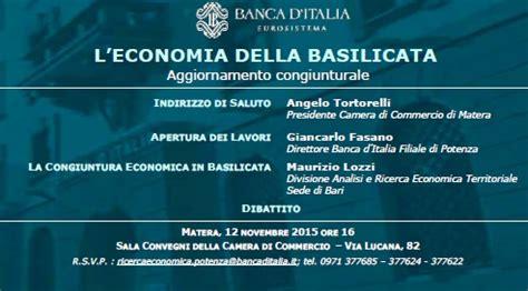 di commercio basilicata economia della basilicata report della d italia