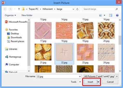 texture fill dialog digunakan untuk texture fills for slide backgrounds in powerpoint 2013 for