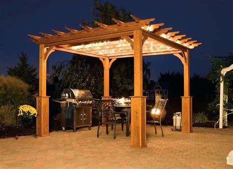 gazebo ideas patio backyard wood outdoor wooden module