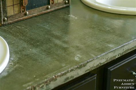 Concrete Mix For Countertops by Pneumatic Addict Diy Concrete Countertop With Sink Openings