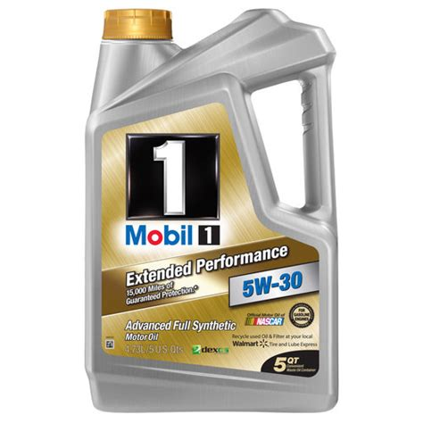 mobil 5w30 mobil 1 5w 30 extended performance synthetic motor