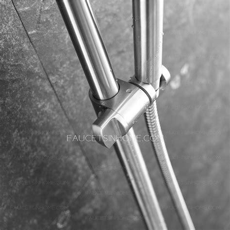 outdoor shower heads stainless steel designer stainless steel outdoor shower heads and faucets