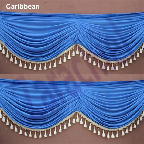 drape meter high quality 1meter drape swag to attach ice silk party