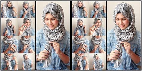 Tutorial Hijab Simple Tanpa Peniti | hijab tutorial hijab praktis tanpa peniti atau jarum