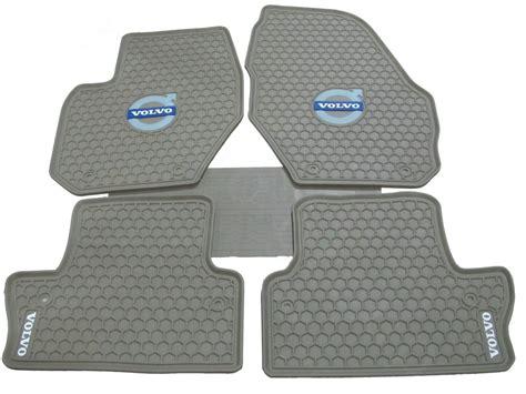 buy wholesale luxury volvo auto logo tailor  carpet car floor mats rubber pcs sets
