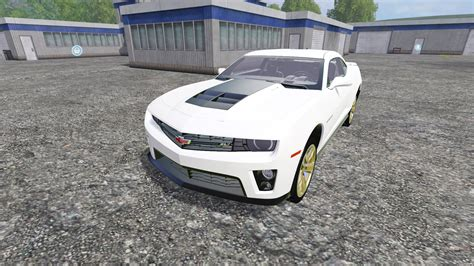 camaro simulator chevrolet camaro zl1 for farming simulator 2015