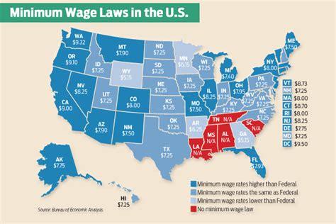national minimum wage in us minimum wage amendment makes the ballot arkansas