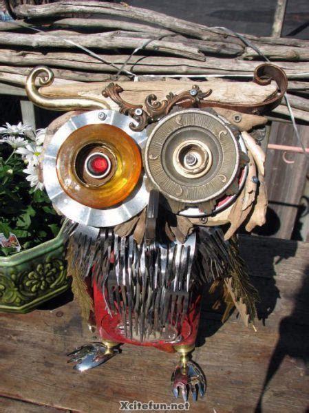 recycled metal sculptures junk art xcitefunnet