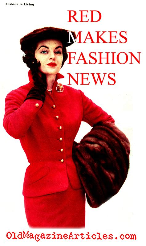 fifties colors 1950s fashion colours colors in 50s fashion red in fifties