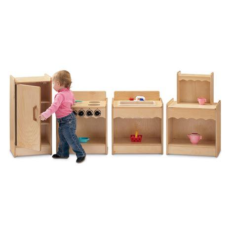 Kitchen Toddler by Jonti Craft Toddler Contempo Kitchen Set 4pc 2075jc On