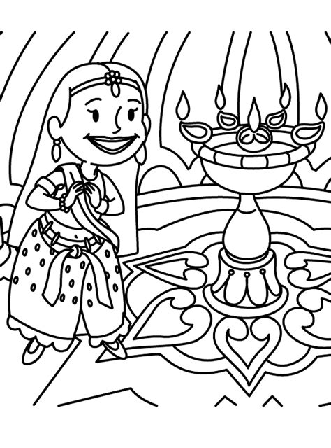 diwali coloring pages free coloring pages diwali coloring pages 2011 deepavali