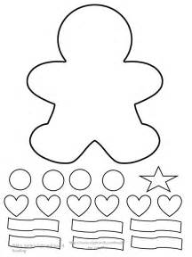 small printable gingerbread man 25 best ideas about gingerbread man template on pinterest