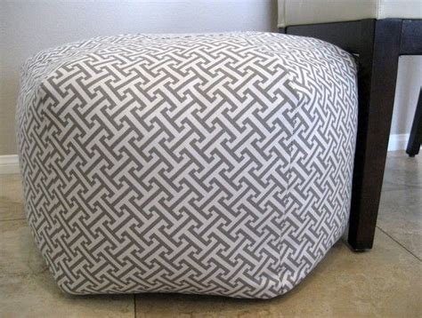 cute ottoman 1000 images about poufs on pinterest herringbone pouf