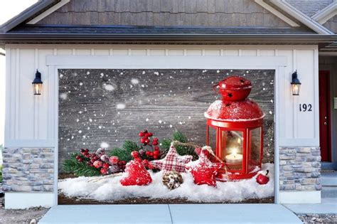 1000 images about christmas decorations for garage door