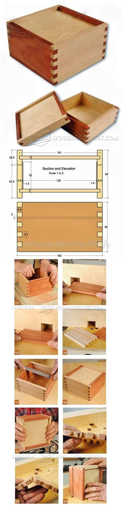 woodworking finger joints 25 best ideas about wooden box plans on