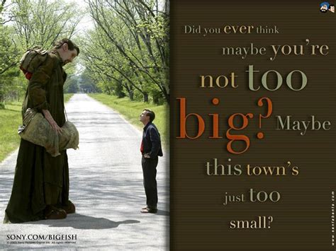 quotes film big fish famous movie quotes tim burton quotesgram big fish