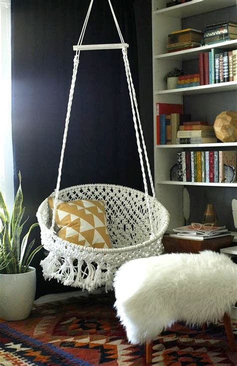 ceiling chairs for bedrooms 8 diy hanging chairs you need in your home brit co