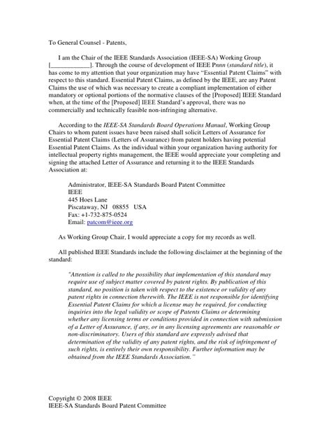 ieee template journal ieee loa templates cover letter