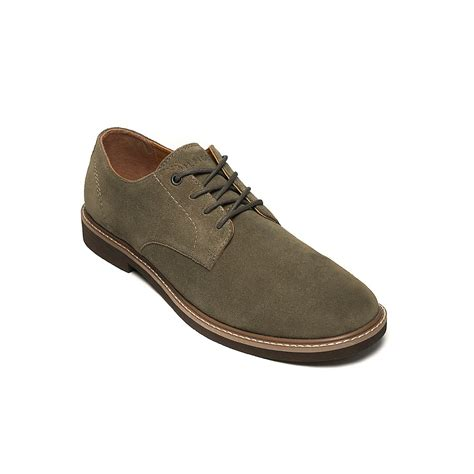 suede oxford shoes hilfiger suede oxford shoe in brown for