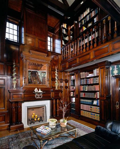 Library Fireplace by 14 Cozy Library Fireplaces We D To Come Home To