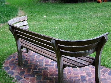 wooden garden seats and benches curved benches on pinterest saunas benches and garden