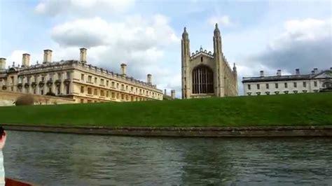 cambridge punt boat tour england youtube - Punt Boat Tour