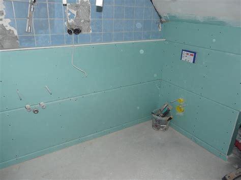 Fliesen Auf Rigips Verlegen by Das Offroad Forum Der Badezimmer Renovierungs Thread