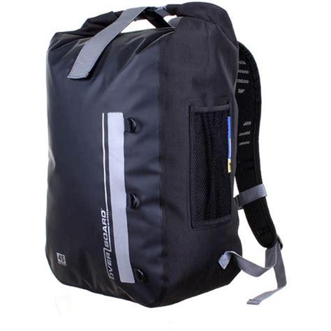 Visval Soka Black Vintage Ransel Backpack overboard classic waterproof backpack 45 liter black ob1167