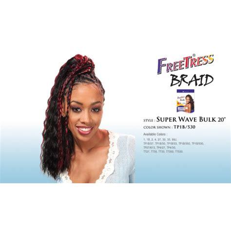 super x braid hair wholesale super wave 20 freetress synthetic bulk braiding hair